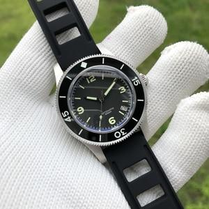 Image 1 - Часы наручные мужские из нержавеющей стали 316L с керамической рамкой, 300 м