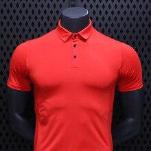 Shirt Fitness Sportswear Short-Sleeve Polyester Summer Men Top Men's