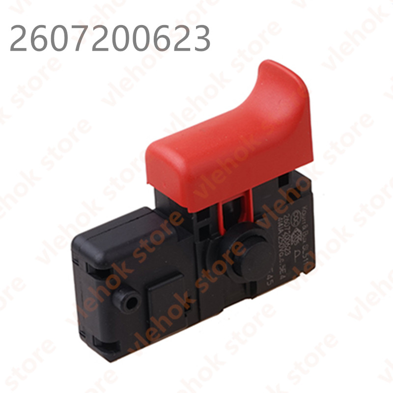 Switch For BOSCH GSB600RE GSB13 GBM13RE GSR7-14E GBM6RE PSB600RE GBM350RE TBM3500 2607200623 Electric Drill Power Tool