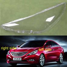 Lampenschirm Scheinwerfer Abdeckung Shell Transparent Lampenschirm Scheinwerfer Abdeckung Glas Objektiv Für Hyundai Sonata 2011 2012 2013 2014
