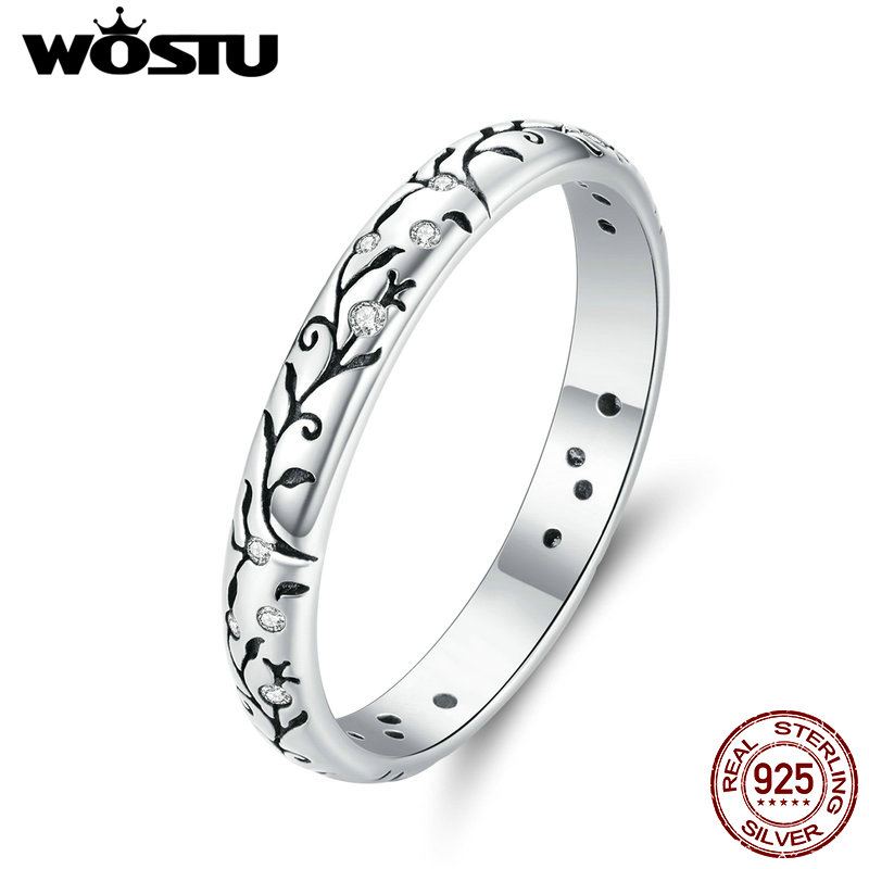 Anillo Retro wastu 100% Plata de Ley 925 pulido, filigrana apilable, anillo para dedo para mujer, joyería de plata Vintage Anel CQR659