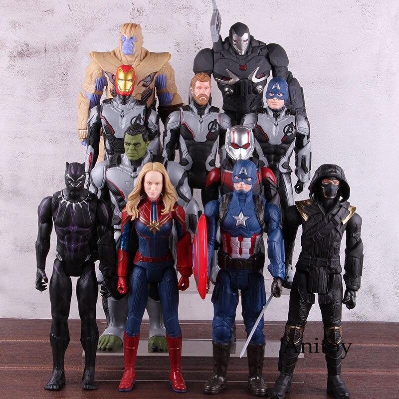 New Avengers Marvel Infinity guerre Titan Hero Power FX Captain America Figure