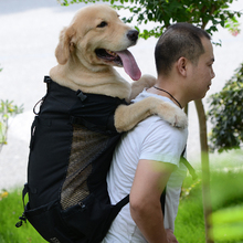 Pet-Dog-Carrier-Bag Backpack Travel-Bags Dogs Outdoor Pet-Supplies Adjustable for Large