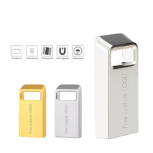Metal Silver Usb Flash Drive 16gb Stick 128Gb Pendrive 64gb Memory 8gb newest Pen 4GB Free custom LOGO