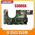 Новая материнская плата S300CA для For Asus S300CA VivoBook S300C материнская плата для ноутбука S300CA материнская плата i7-3517/3537U REV2.1 4G RAM