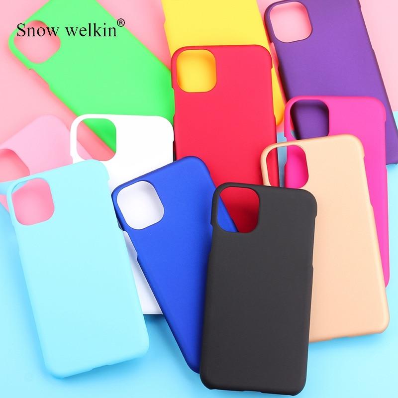 Чехол для iPhone SE 2020 SE2, Матовый Жесткий пластиковый Чехол, задняя крышка для iPhone 11 Pro XS Max XR X 8 7 6 6S Plus 8Plus, чехлы для телефонов