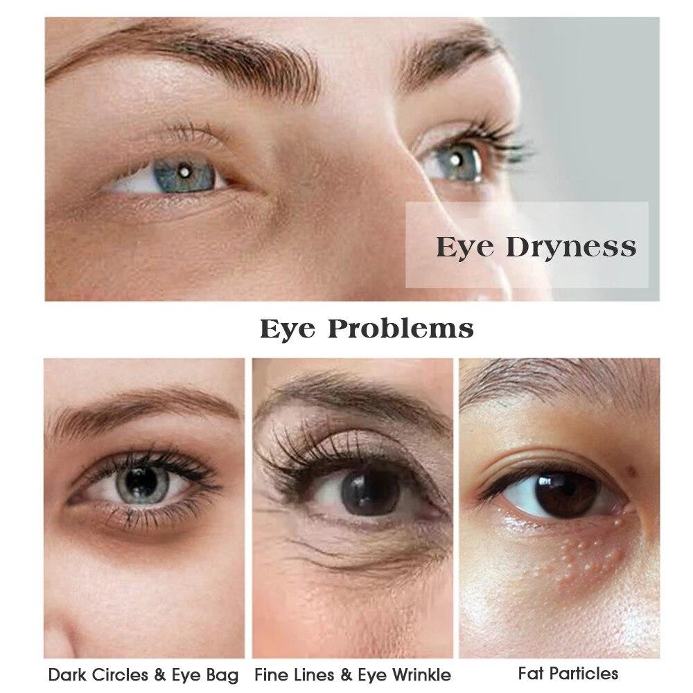 Black Pearl Eye patches Natural Moisturizing Gel Collagen Eyes Masks Remove Dark Circles Anti Age Bag Wrinkle 60PCS Skin Care M-1