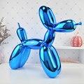 Большой воздушный шар собака скульптура произведение искусства современный контракт Домашний Настольный Декор Фигурки Животных Подарки