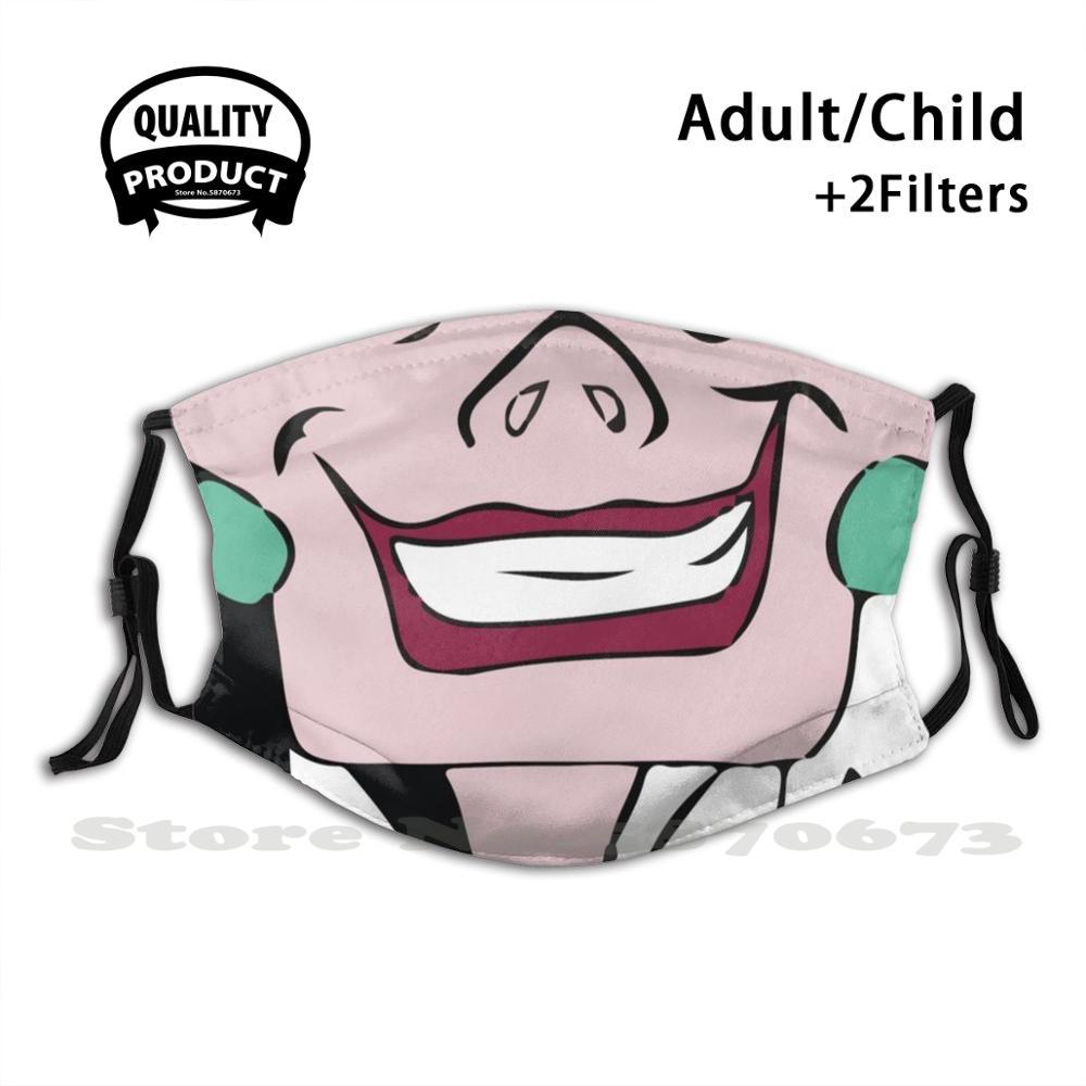 Cruella de vil-miserável design reutilizável máscara de boca lavável filtro anti poeira máscaras de rosto cruella de vil cruella 101 dálmatas