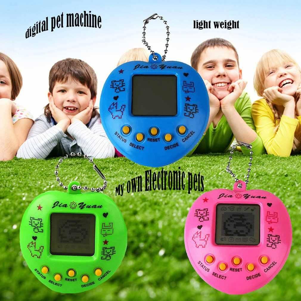 1 adet istihbarat gelişim elektronik evcil hayvan oyuncakları nostaljik evcil hayvanlar bir sanal Cyber Pet oyuncak penguenler oyuncak