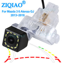 ZIQIAO for Mazda 3 6 Axela BM Atenza GJ CX-4 License Plate Lights Dynamic Trajectory Parking Monitor Reverse Camera HS056(China)