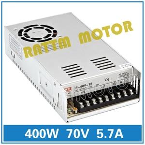 Image 2 - DE ship 400W 70V 스위치 DC 전원 공급 장치 S 400 70 5.7A 단일 출력 CNC 라우터 포밍 밀 컷 레이저 조각기 플라즈마