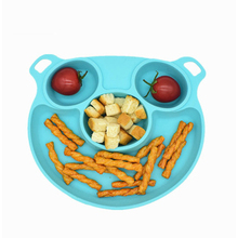 Cute Children Silicone Baby Bowl Sucker Tableware Non Slip Plate