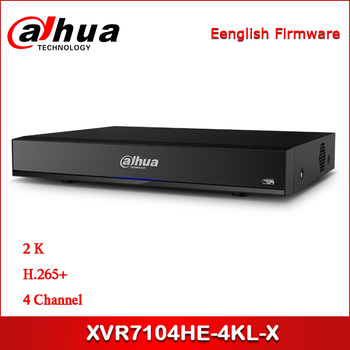 Dahua XVR XVR7104HE-4KL-X 4 Channel Penta-brid 4K Mini 1U Digital Video Recorder IoT & POS functionalities