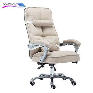 Image 3 - Cadeira de computador cadeira de escritório em casa cadeira de massagem giratória reclinável