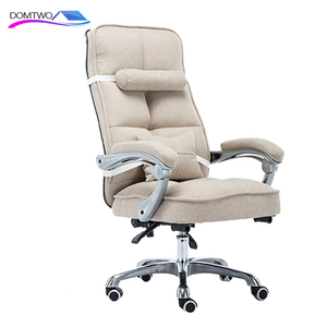 Image 3 - Cloth Computer Chair Home Office Chair Reclining Swivel Massage Chair