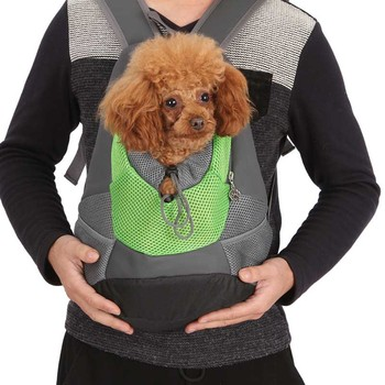 Double Shoulder Pet Carrier Bag Suitable for Transportation of Cats and Dog During Travel
