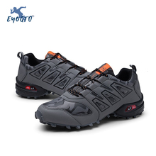 Men's Outdoor Hiking Shoes Climbing Sport Breathable Sneakers Men Tactical Hunting Trekking Shoes Summer Mesh Anti-skid Trainers men s hiking shoes outdoor sneakers anti skid hunting climbing shoes men s military tactical army shoes breathable hiking boots