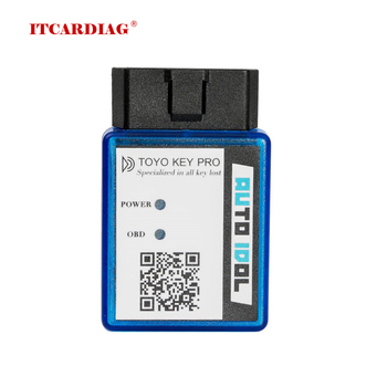For Toyo Key Pro OBD II Support for Toyo-ta 40/80/128 BIT (4D, 4D-G, 4D-H) All Key Lost for Toyota Auto Key Programmer image