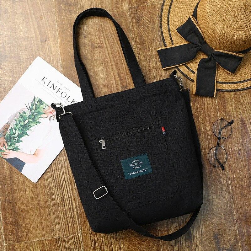 Мягкая Холщовая Сумка, большая Вместительная женская сумка для покупок, Повседневная Дамская Сумка-тоут на одно плечо