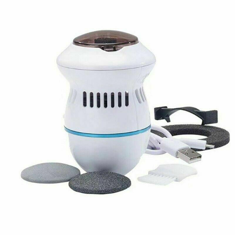 Pedi Vac Remover Rechargeable New Electronic Foot Files Pedicure Tools Pedi Feet Care Perfect For Hard Cracked Skin Callus