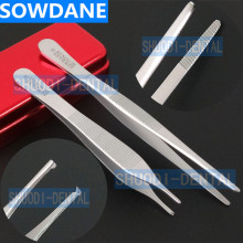 High Quality Teeth Whitening Oral Care Orthodontic Dental Stainless Steel Tweezer Saw Tooth