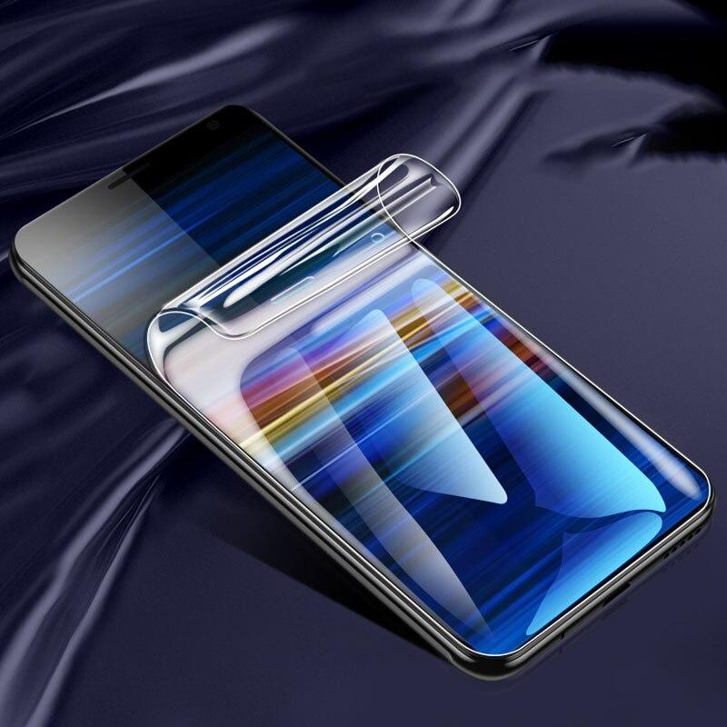 Idrogel di Protezione dello schermo Pellicola Per Sony Xperia Xzs Xz Xz1 Xz2 Xz3 Xz4 1 5 II Ii 2 Premium Compatto pellicola protettiva