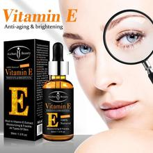 100% Natural Plant Extract Drops Vitamin E Face Serum Whitening Brightening Mois