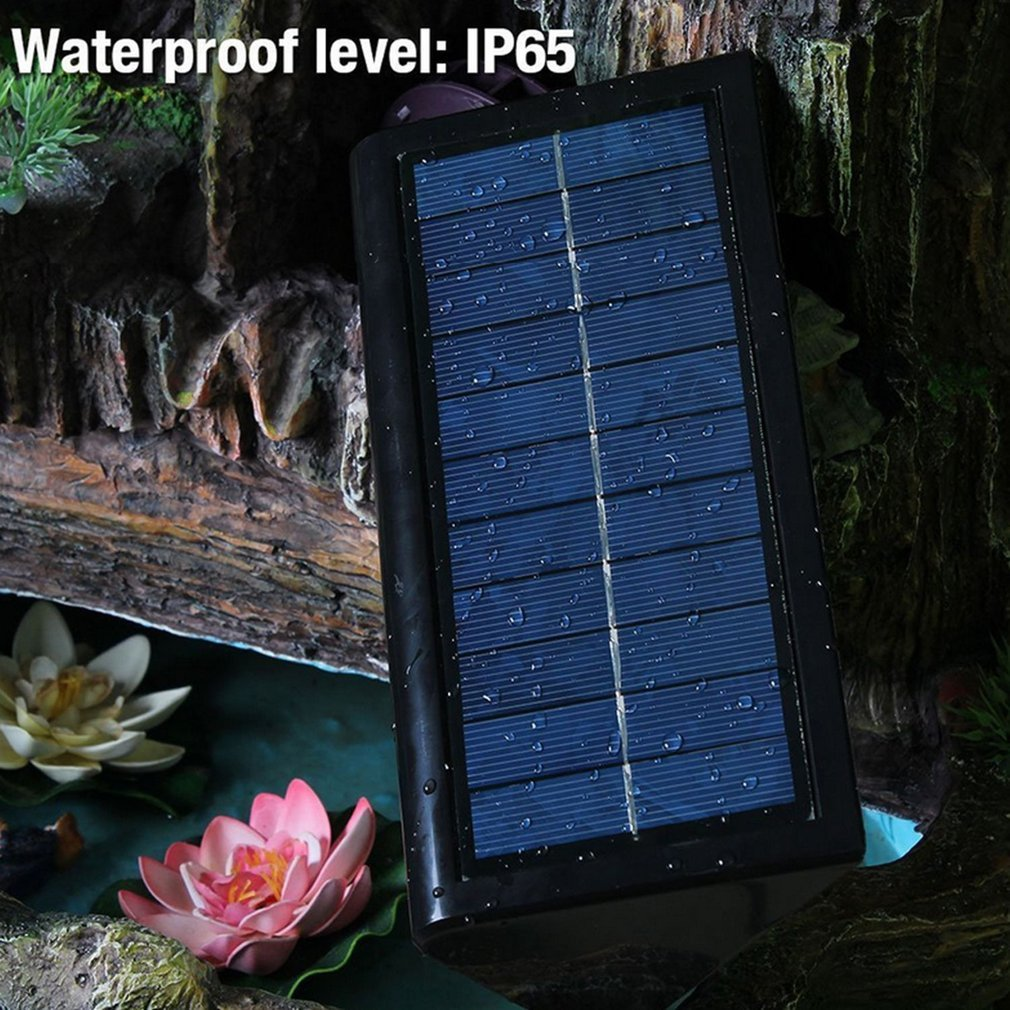 Solar Powered 32 LED Security PIR Motion Sensor Light Spotlight Outdoor Garden