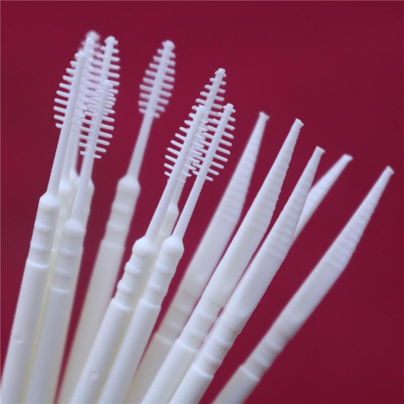 100 Piece Two-head Superfine Disposable Toothpicks, Dental Floss Rods Toothpicks
