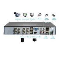 4/8 kanałów 1080P H.264 DVR Monitor bezpieczeństwa NVR 960H rejestrator DVR P2P dysk twardy wideo rejestrator cyfrowy analogowy 1 maszyna 3 wykorzystuje w Rejestratory wideo do nadzoru od Bezpieczeństwo i ochrona na