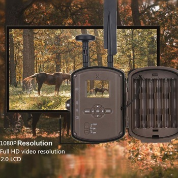 Photo Trap Hunting camera 4G With 8000mah Solar Panel HD Video GPS Wildlife Trail Camera BL480L-P 6