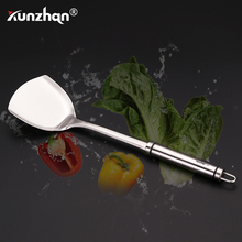 304 Stainless Steel Cooking Tools Spoon Slotted Shovel Turner Noodle Spoon Cooking Utensils