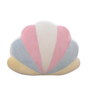 Image 5 - Cuscino creativo colorato per bambini decorazione per camera dei bambini cuscino per finestra a baia arcobaleno conchiglia stella palla cartone animato cuscino Comfort per bambini