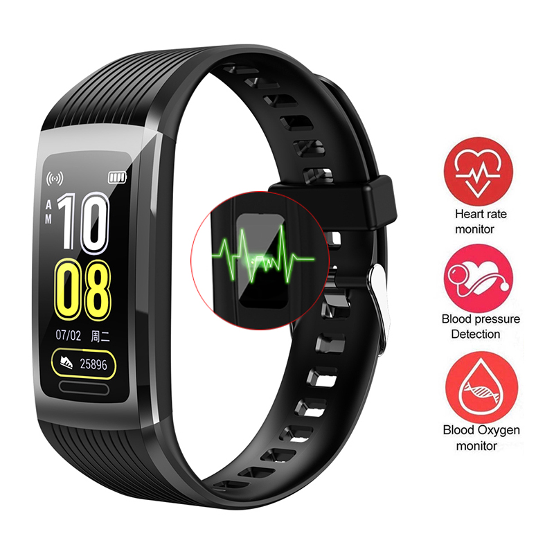 R10 Smart Sports Bracelet Color Screen Waterproof Measurement Heart Rate Activity Sleep Tracker Waterproof Waterproof Bracelet