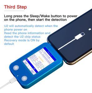Image 3 - Jc U2 Snelle Detector Voor Iphone U2 Lading Ic Fault Snelle Tester Sn Serienummer Snelle Detector Reader Voor Gehandicapten toegangscode Id