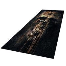 Home decorative 3d effect runner rug 180x60cm living room floor