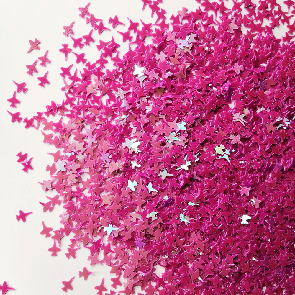 20g Airplane Shape Loose Sequins for Crafts Glitter Sequin Paillettes DIY Confetti Nail Art Sewing Wedding Party Decor 4*6mm