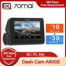 In Voorraad Nieuwe Aankomst 70mai Dash Cam 4K A800S Ingebouwde Gps Adas Real 4K Uhd Cinema-Kwaliteit Video 24H Parking Voor Sony IMX415