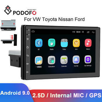 Camecho 1din Car Radio GPS Multimedia Video Player Wifi Car Stereo For VW Toyota Nissan Ford Seat Passat Renault BMW Autoradio image