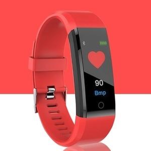 Image 4 - KLW Bluetooth  Watch Color Screen Waterproof Smart Band Heart Rate Blood Pressure Moniter Bracelet  Wristband