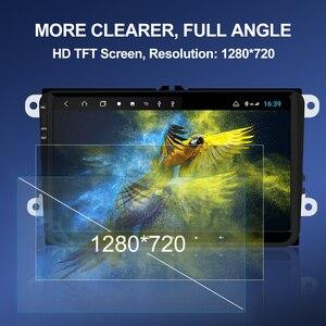 Image 2 - Isudar H53 4G Android Auto Radio For VW/Volkswagen/PASSAT/POLO/Golf/Skoda/Seat Car Multimedia GPS 1 Din 8 Core RAM 4G DVR Camera