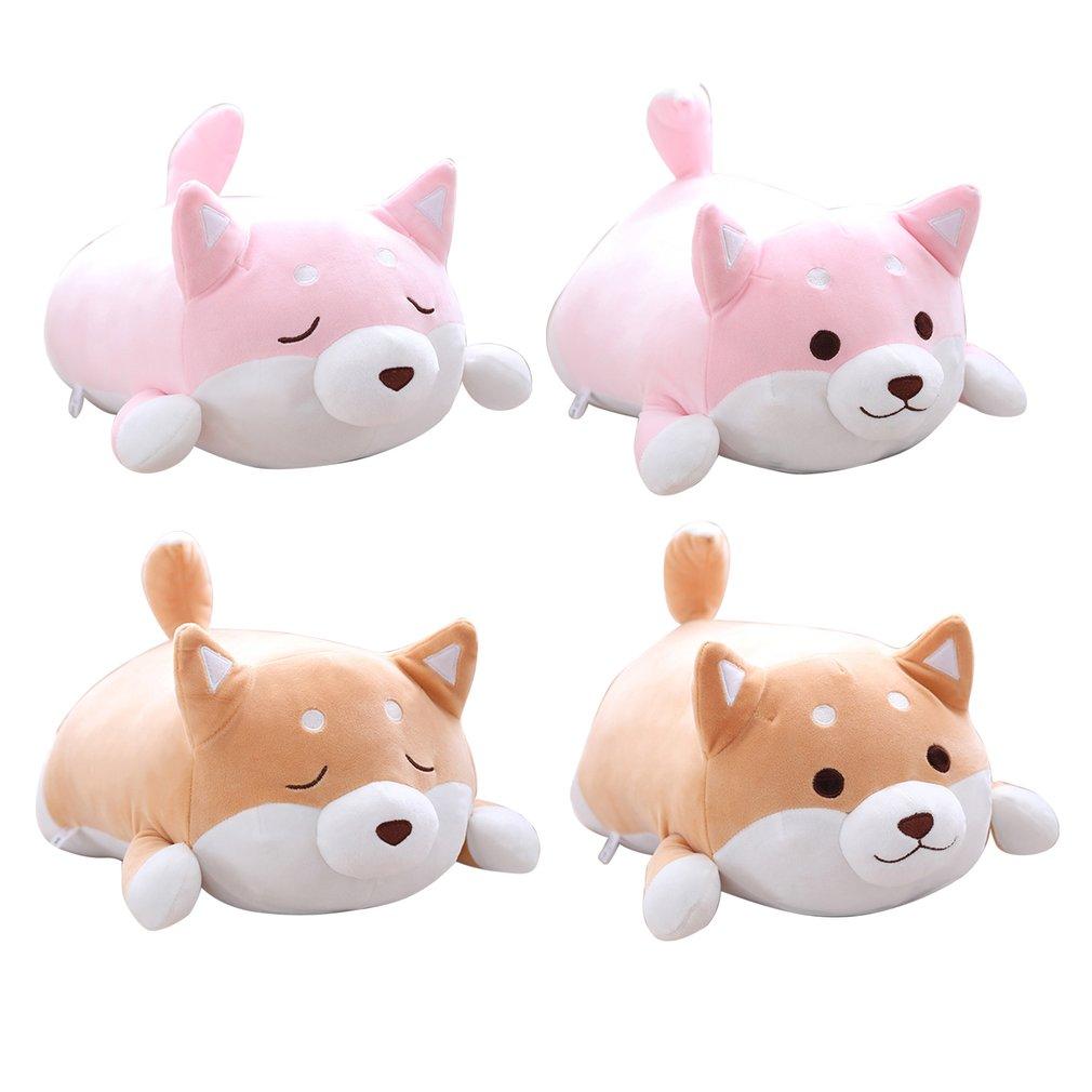 Cute Kawaii Shiba Inu Dog Pillow Cushion Plush Stuffed Soft Animal Gifts 40CM
