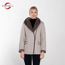MODERN NEW SAGA 2019 New Autumn Collection Womens Short Jacket Female Hooded Warm Parkas Office Lady Casual Jackets