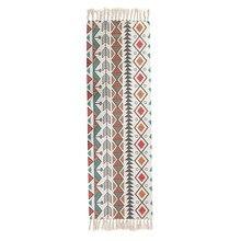 Bohemio hogar Decoración pared colchón algodón lino tejido geométrico borlas alfombras playa baño toalla Manta