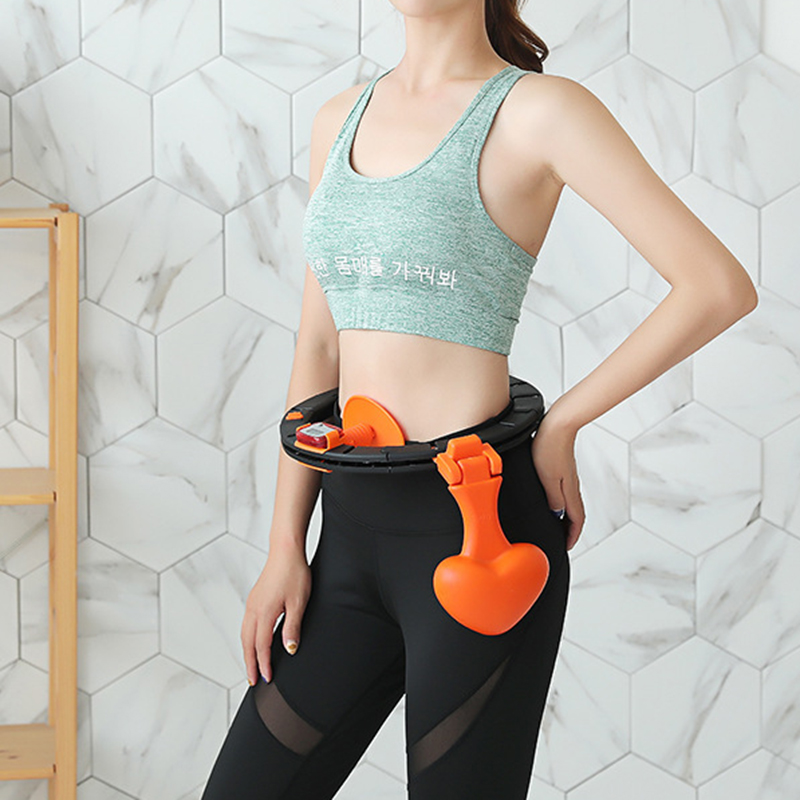 Yoga Waist Exerciser Circle  Portable Sport Fitness Equipment Detachable Belly Abdominal Muscle Trainer Circle Loss Weight