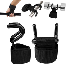 Hook Glove Support Grip Weight Lifting Support Training Gym Strong Professional