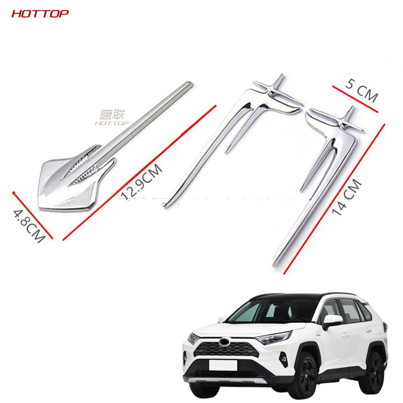 1 Pair Rear Side Car Body Panel Cover Durable Decoration Compatible For Toyota Rav4 2019 2020 5th Car Styling