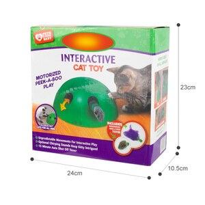 Image 5 - 2019 新しい猫のおもちゃポップ再生ペットのおもちゃボールポップ n プレイ猫デバイスおかしい型学習用の猫のおもちゃ猫シャープ爪ペット用品