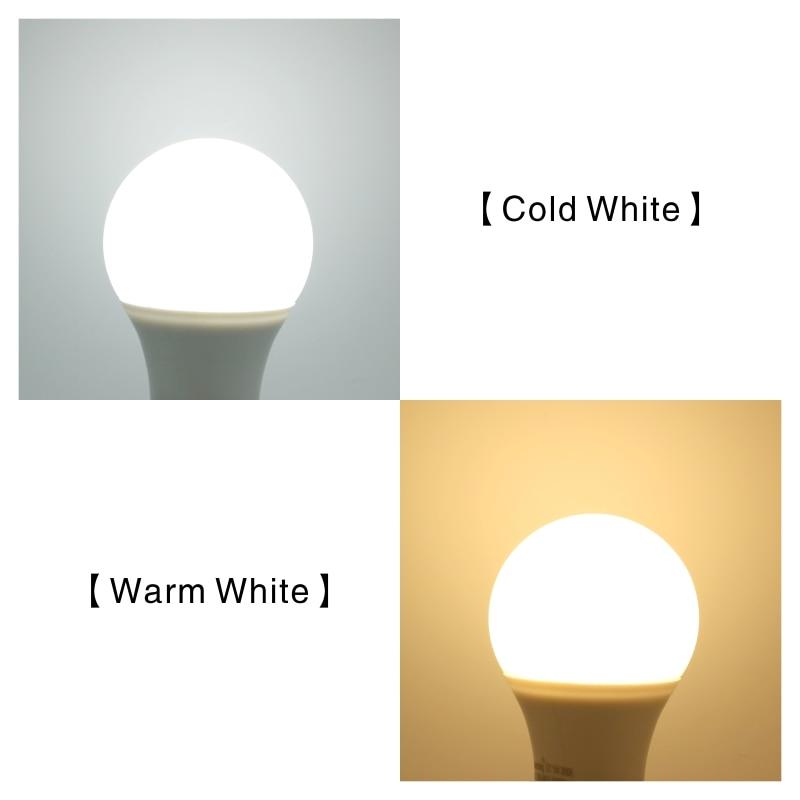4PCS LED Lamp Light Bulbs E27 E14 3W 9W 12W 15W 18W 24W 220V LED Bulb High Brightness Lampada For Home Bombillas Warm Cold White 5
